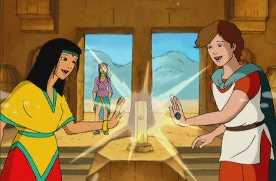 Dessins animés : Esteban et Zia à la recherche des 7 Cités d'Or