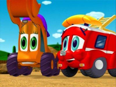 Dessins animés : Finley le camion de pompier