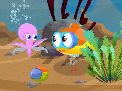 Dessins animés : Flippy le petit sous marin