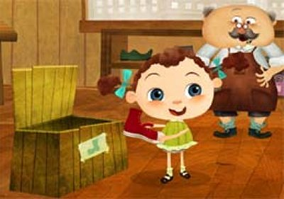 Dessins animés : Franny et les chaussures magiques