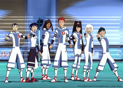 Dessins animés : Galactik football