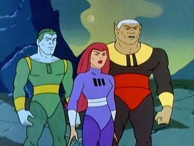 Dessins animés : Galaxy Trio