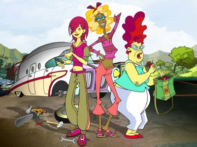 Dessins animés : Gloria, Wilma et moi