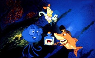 Dessins animés : Gloups, je suis un poisson
