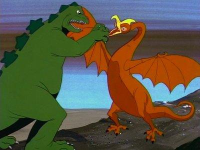 Dessins Animés : Godzilla