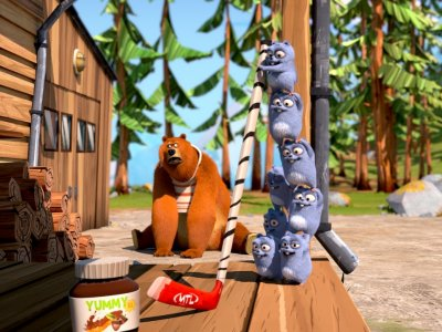 Dessins animés : Grizzy et les lemmings