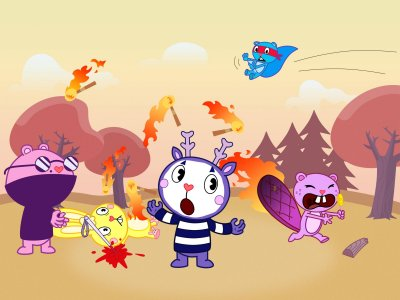 Dessins animés : Happy Tree Friends