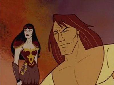 Dessins animés : Hercule et Xena : La bataille du mont Olympe