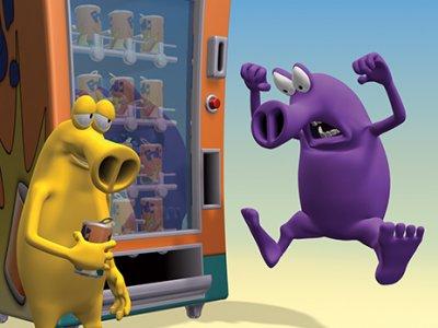 Dessins animés : Hoota et Snoz