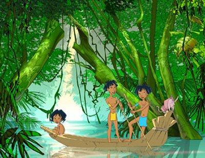 Dessins animés : Inami le Bellacaïbos de la forêt