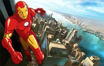Dessins animés : Iron Man