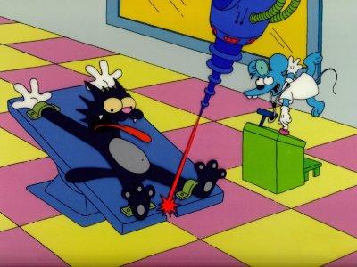 Dessins Animés : Itchy et Scratchy (Les Simpson)
