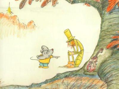 Dessins animés : Jamie la souris