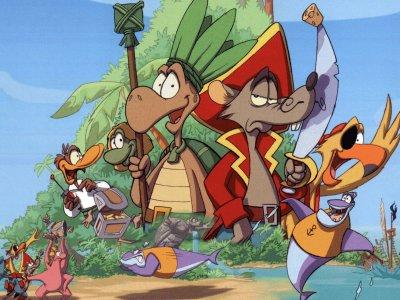 L 39 le de la tortue 2000 dessins anim s alwebsite - Dessin anime des tortues ninja ...