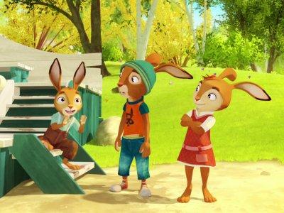 Dessins animés : L'Ecole des lapins