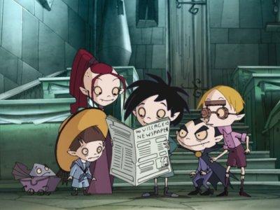 Dessins animés : L'Ecole des petits vampires