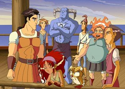 Dessins animés : L'Odyssée