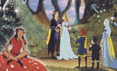 Dessins animés : L'anneau magique