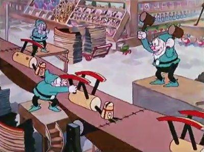 Dessins Animés : L'Atelier du Père Noël (Silly Symphonies)
