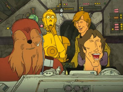 Dessins animés : L'histoire du fidèle wookiee (The Story of the Faithful Wookiee)