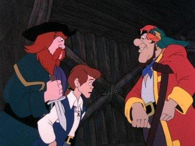 Dessins animés : L'île au trésor (Treasure Island - Filmation Associates)