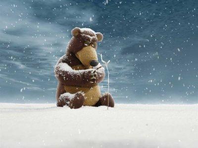 Dessins animés : L'ours et le magicien