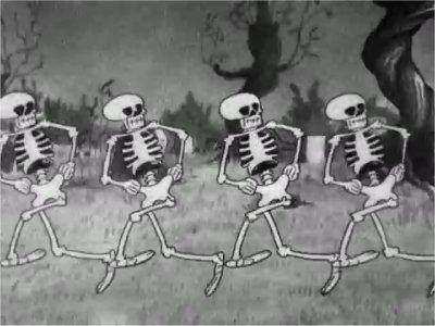 Dessins animés : La Danse macabre (Silly Symphonies)