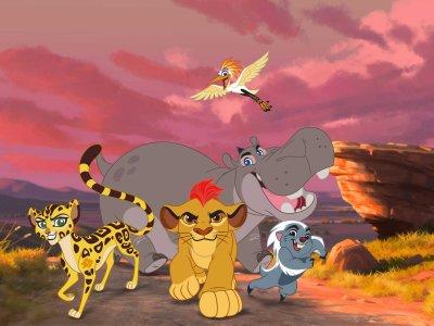 Dessins animés : La Garde du Roi lion (The Lion Guard)