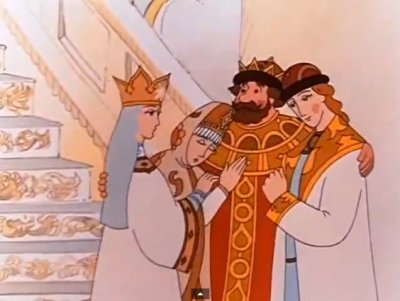 Dessins animés : La Légende du Tsar Saltan