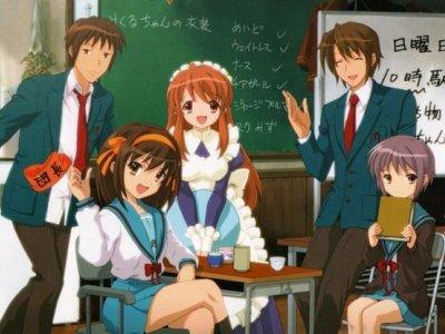 Dessins Animés : La Mélancolie de Haruhi Suzumiya