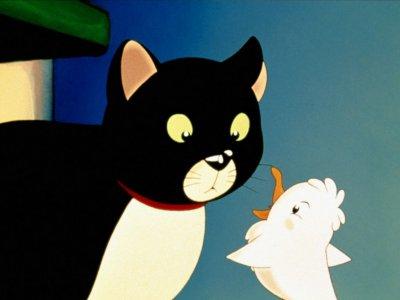 Dessins animés : La Mouette et le Chat