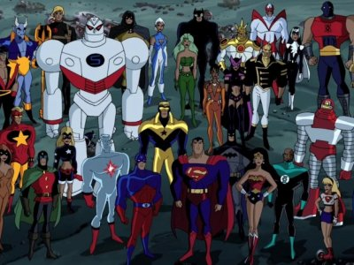 Dessins animés : La Nouvelle Ligue des justiciers (Justice League Unlimited)