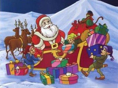 Dessins Animés : La Véritable Histoire du Père Noël