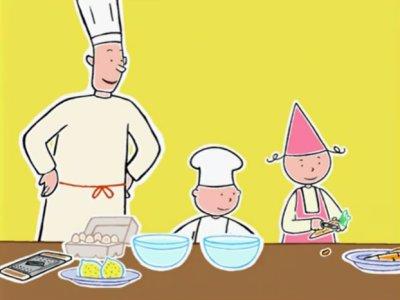 Dessins animés : La cuisine est un jeu d'enfants