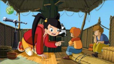 Dessins animés : La petite Géante