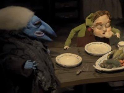 Dessins Animés : La sorcière Grince-Dents