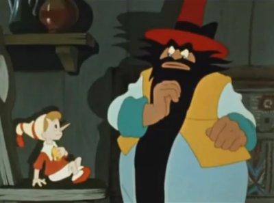 Dessins animés : Pinocchio et la Clé d'Or (ou les aventures de Bouratino)