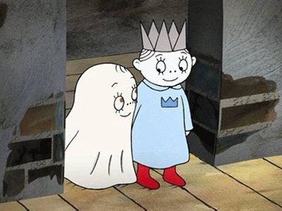 Dessins animés : Laban le petit fantôme