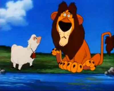 Dessins animés : Lambert le lion bêlant