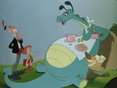 Dessins animés : Le Dragon récalcitrant (Walt Disney)