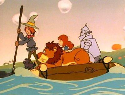 Dessins animés : Le Magicien d'Oz