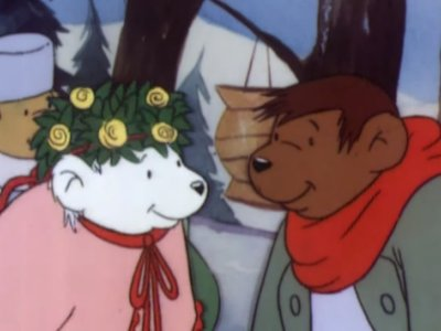 Dessins Animés : Le Mariage d'ours Brun et d'ours Blanche (Brown Bear's Wedding & White Bear's Secret)
