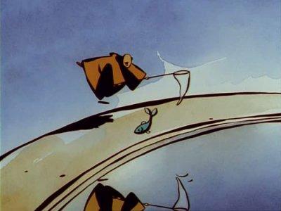 Dessins animés : Le Moine et le Poisson