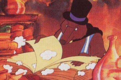 Dessins animés : Le Père-Noël et le magicien