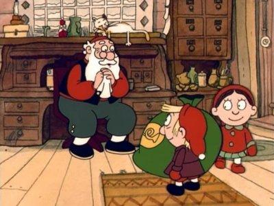 Dessins animés : Le Père Noël et le tambour magique
