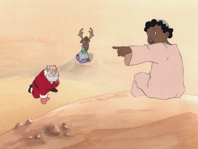 Dessins Animés : Le Père-Noël et les enfants du désert