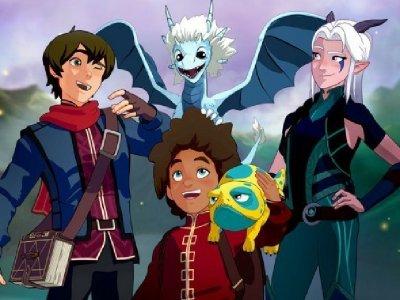 Dessins Animés : Le Prince des dragons (The Dragon Prince)