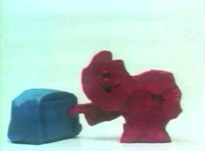 Dessins animés : Le Rouge et le Bleu
