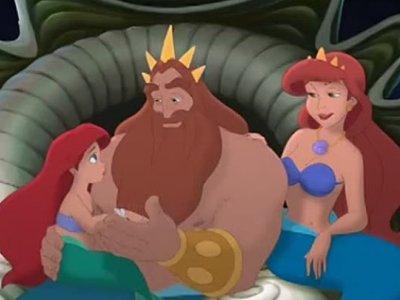 Dessins animés : Le Secret de la Petite Sirène (Walt Disney)