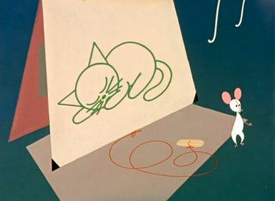 Dessins animés : Le chat et la souris
